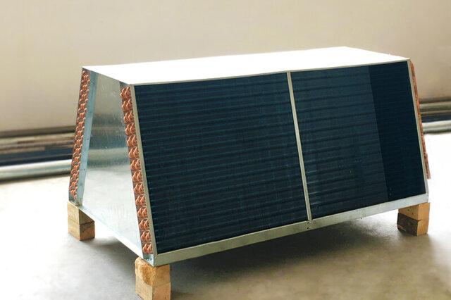 v shape air cooled condenser