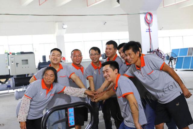 scy chiller employee group photo