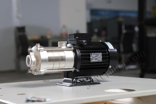 horizontal water pump for chiller