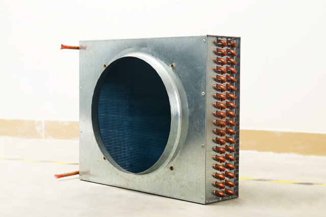 plate air cooled condenser