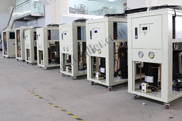 air-cooled chiller stock