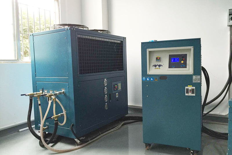jewelry industry chiller project