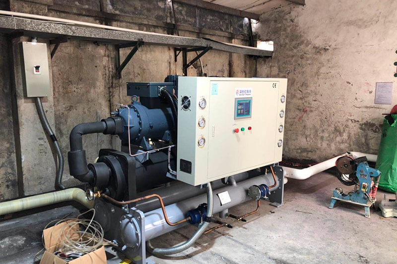plastic industry chiller project