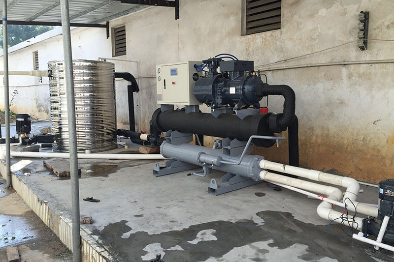 manufacturing industry chiller project