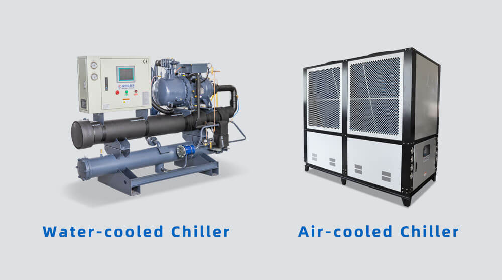 air cooled and water cooled chiller